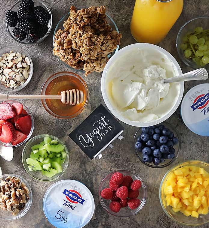 Fage Yogurt Granola Fruit Bar Photo