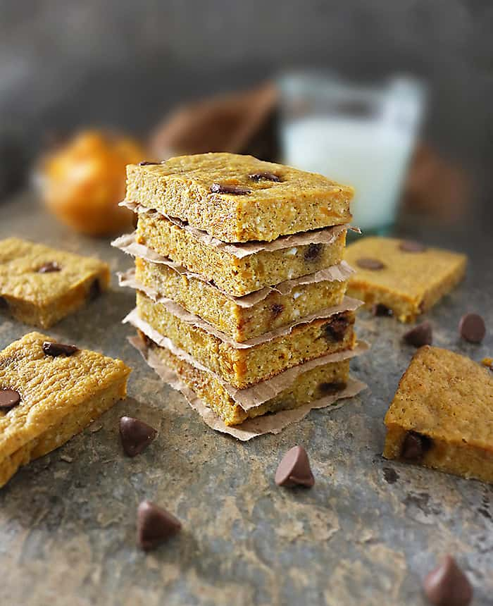 Image of Japanese Pumpkin Bars