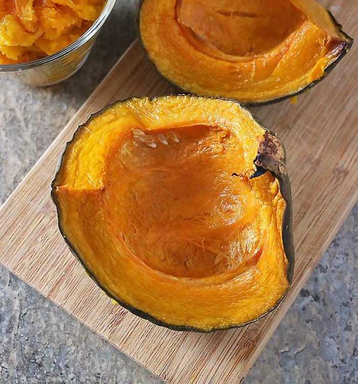 Photo of Kabocha Japanese Pumpkin Roasted