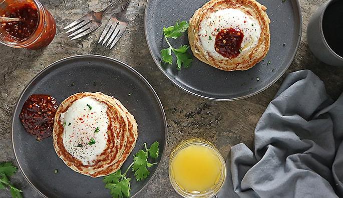 Photo of Oat Potato Pancake Breakfast