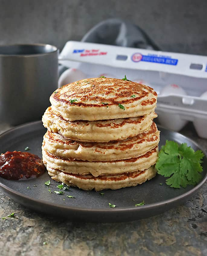 Photo of Oat Potato Pancakes Stack