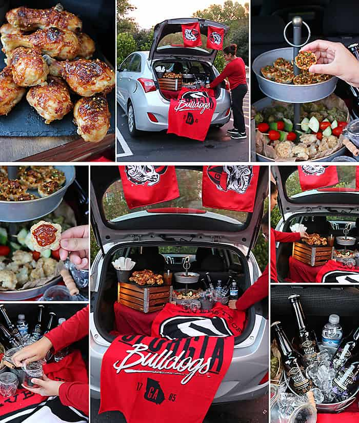 UGA Tailgating With Products From Kroger Photo