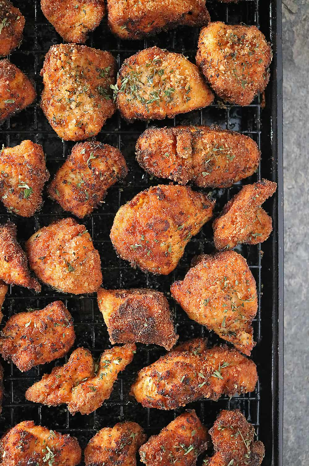 Baked Fried Chicken Photo
