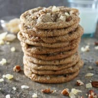 Ginger Pecan Cookies
