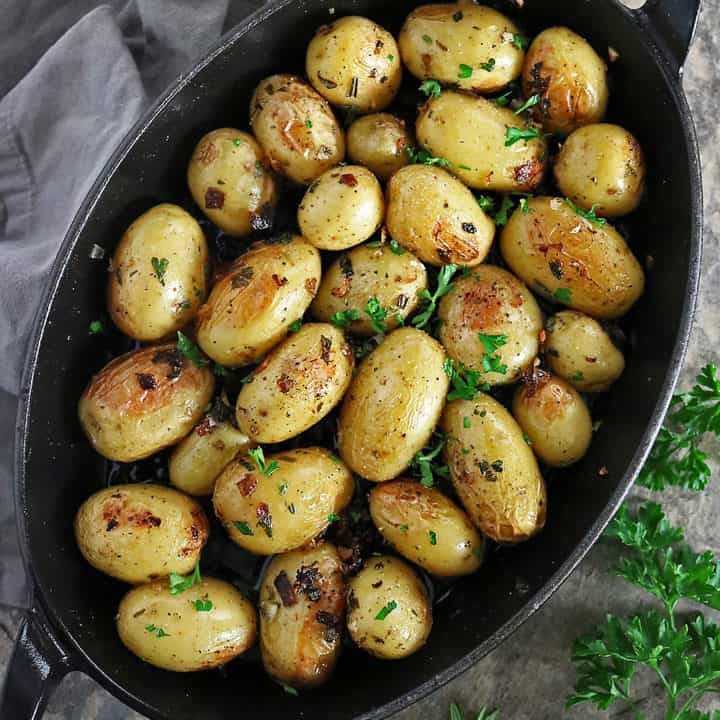 Delicious Herb Cast Iron Potatoes Images