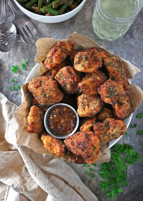 Easy Fried Baked Chicken Image