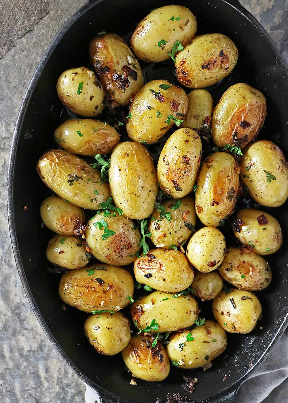 Easy Herb Skillet Potatoes Photo