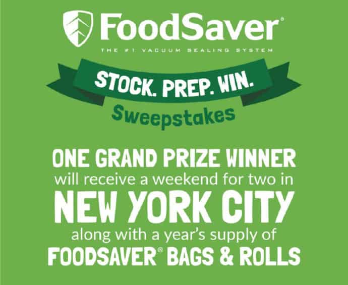 Foodsaver Sweepstakes