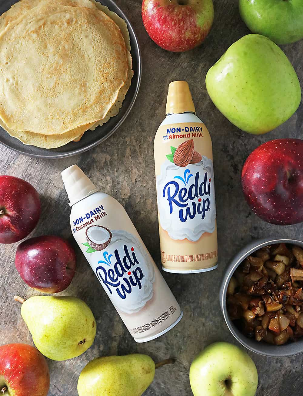 Reddi wip Non Dairy whipped topping And Crepes Photo