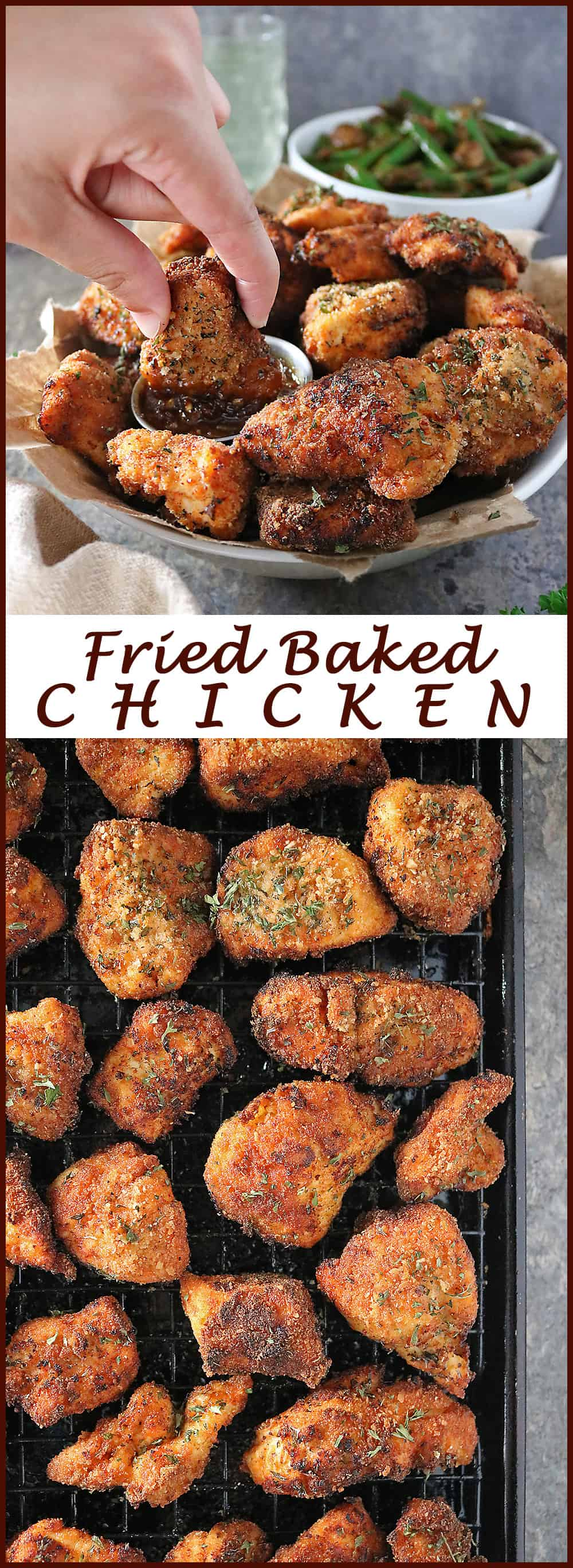 Spiced Fried Baked Chicken Inspired By Eats On The #FarmFoodTour Photo