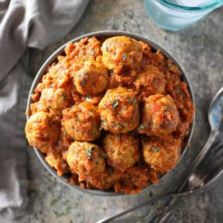 Photo of Delicious Easy Spicy Baked Chicken Meatballs