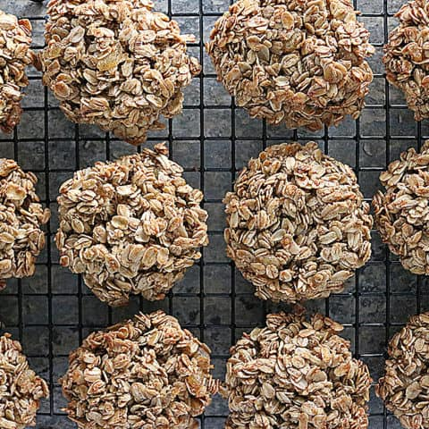 Photo of Ginger Granola Breakfast Cookies are the perfect grab-and-go meal. Bake 'em up to eat through the week.