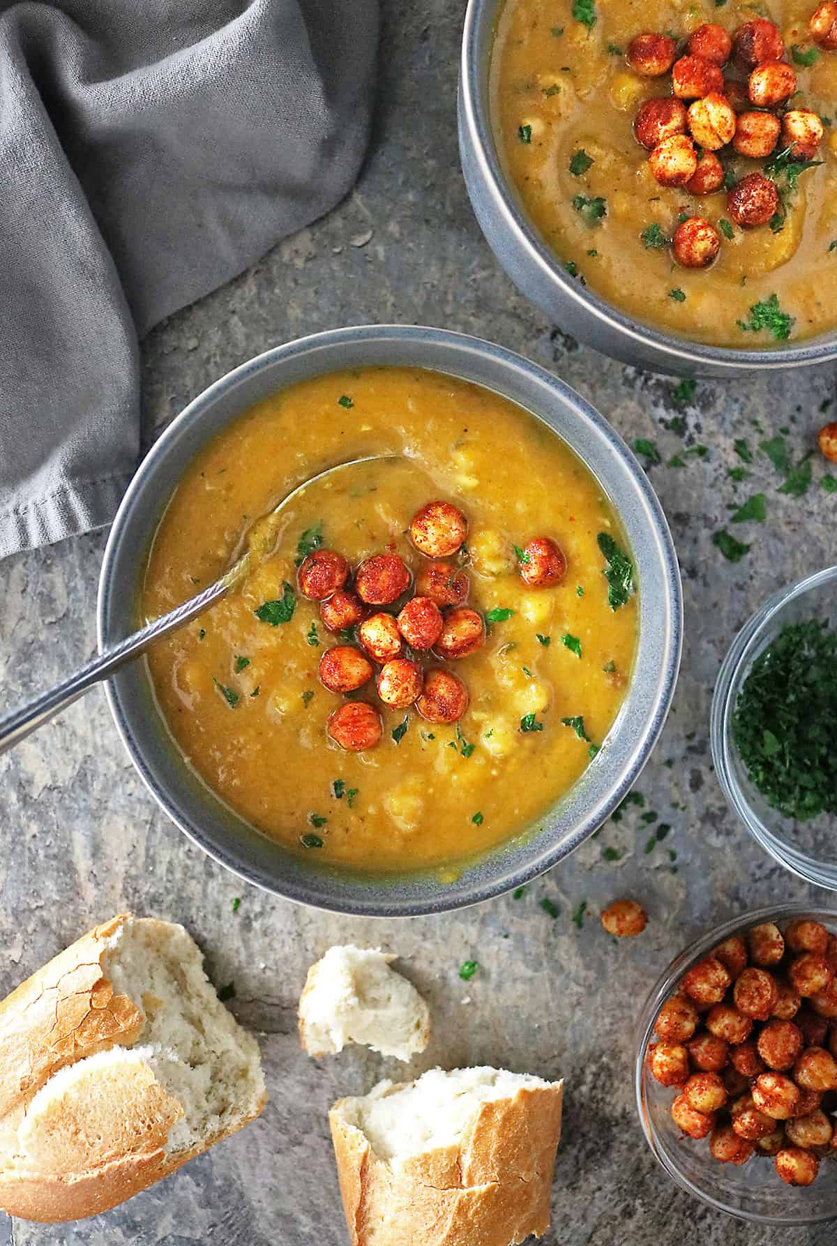 Easy Roasted Garlic Pumpkin Soup Photo