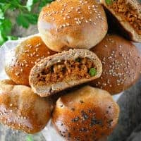 Spiced Chicken Stuffed Buns