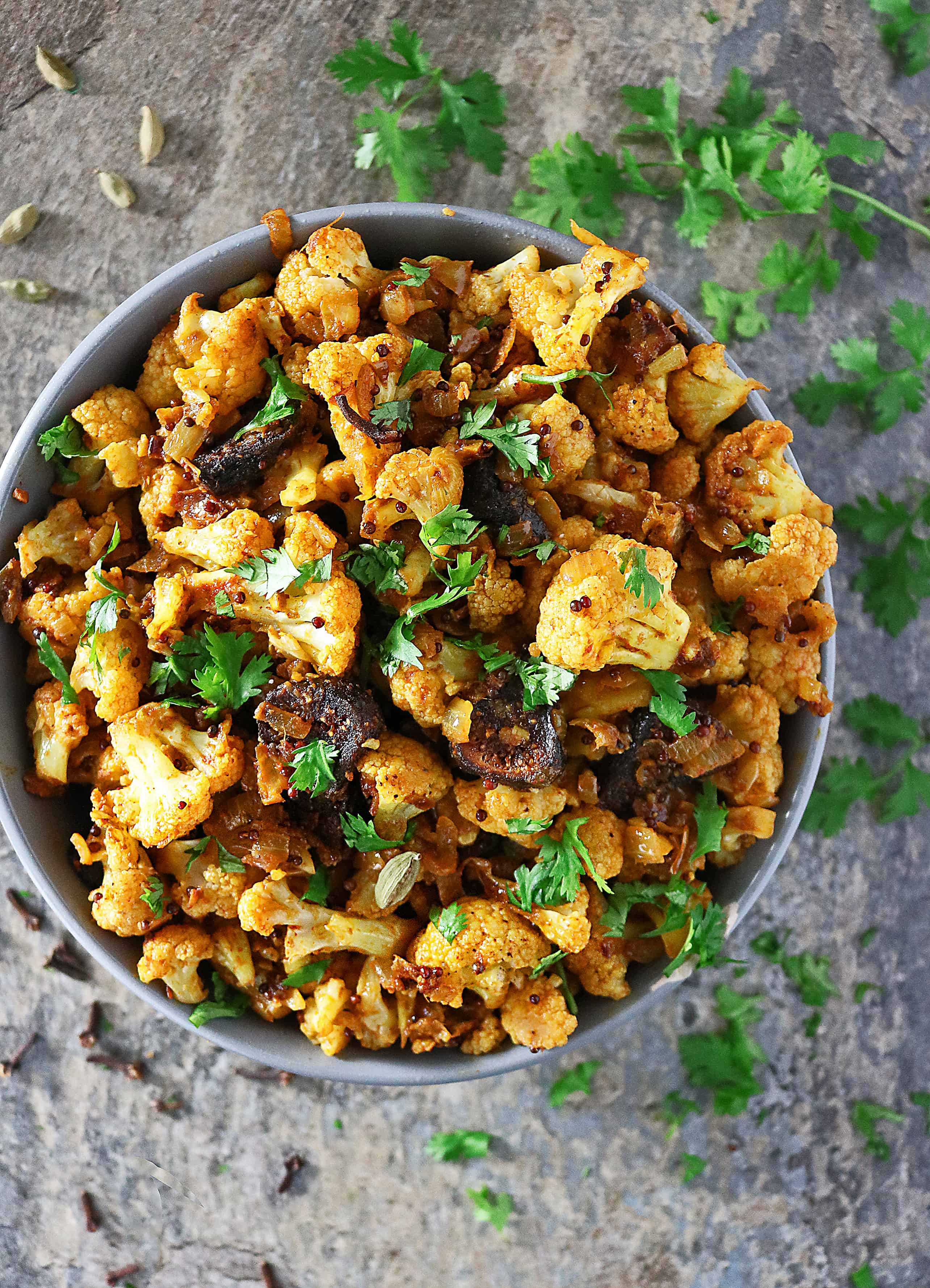 Photo of Spicy Cauliflower with Figs