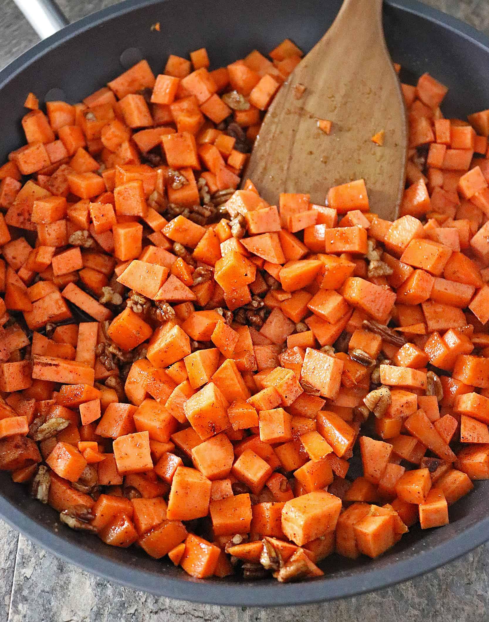 Photo of Sweet Potato Saute In Anolon Skillet