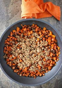 Sweet Potato Streusel Bake In Anolon Skillet Photo