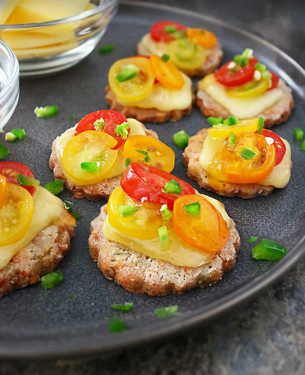 Photo of Easy Tomato Jalapeno Cheese Cracker Appetizers