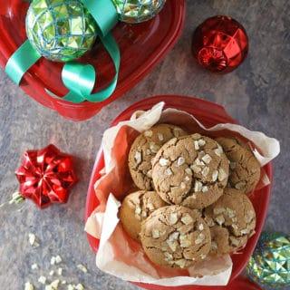 Ginger Molasses Cookies Cookie Exchange Photo