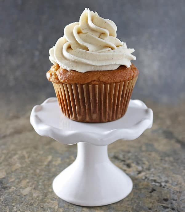 Gluten Free Ginger Sweet Potato Cupcakes Photo