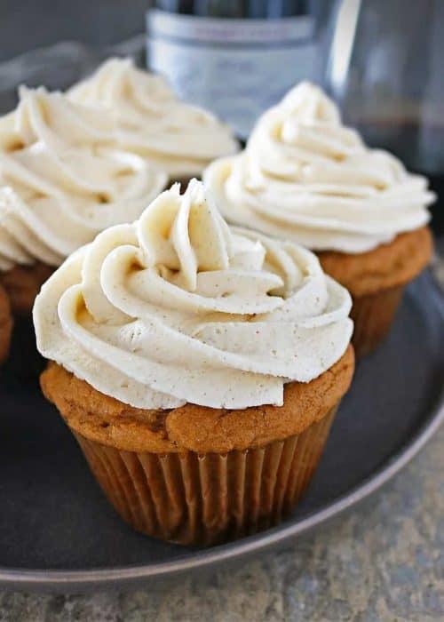 Ginger Sweet Potato Cupcakes