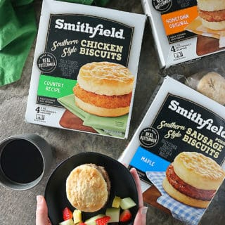 Photo Making Mornings Easier With Smithfield Breakfast Sandwiches.