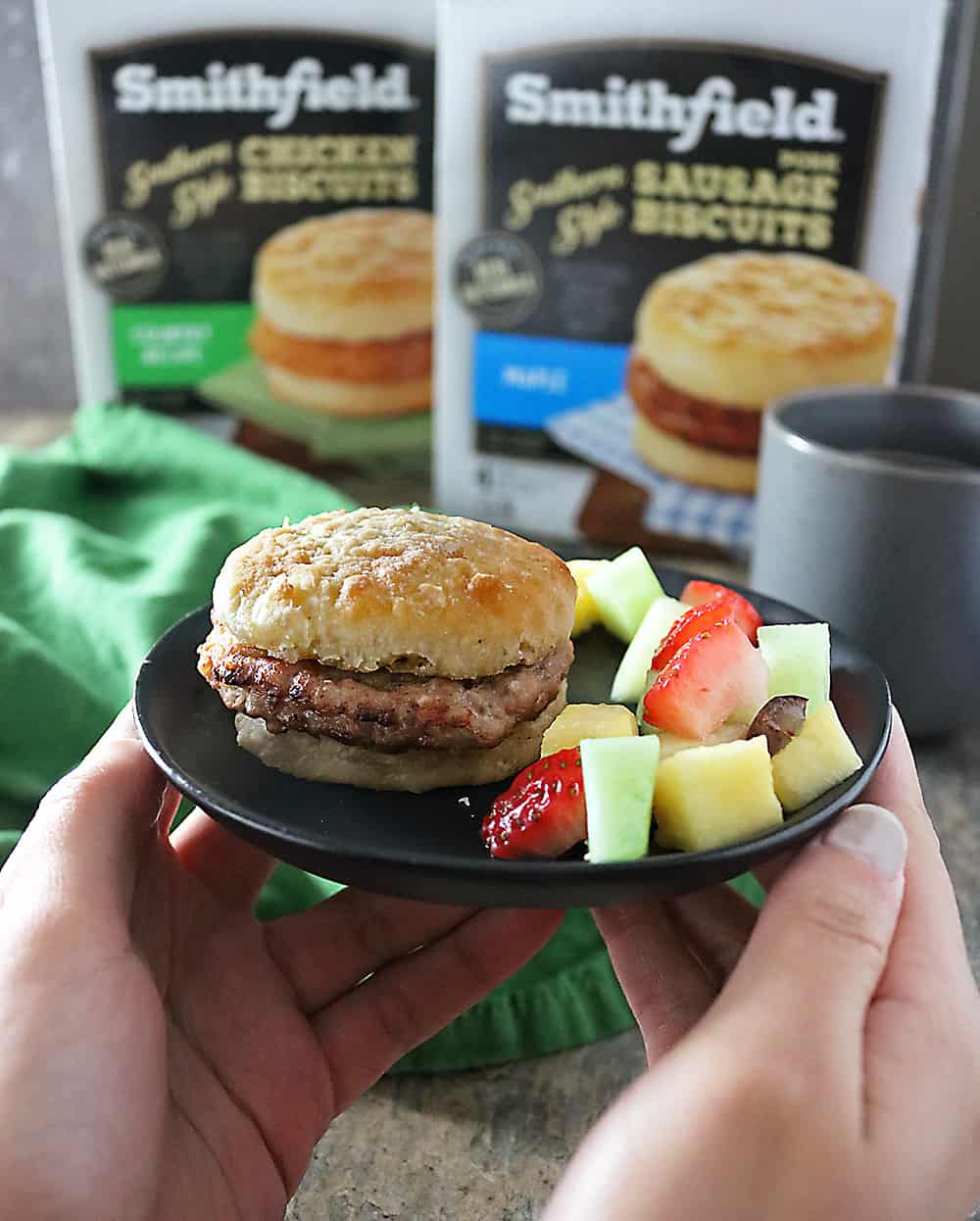 Making Mornings Easy With Smithfield Breakfast Sandwiches Photo