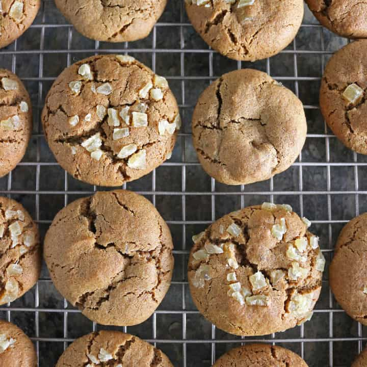 Soft Molasses Ginger Cookies For Christmas Gifting Image