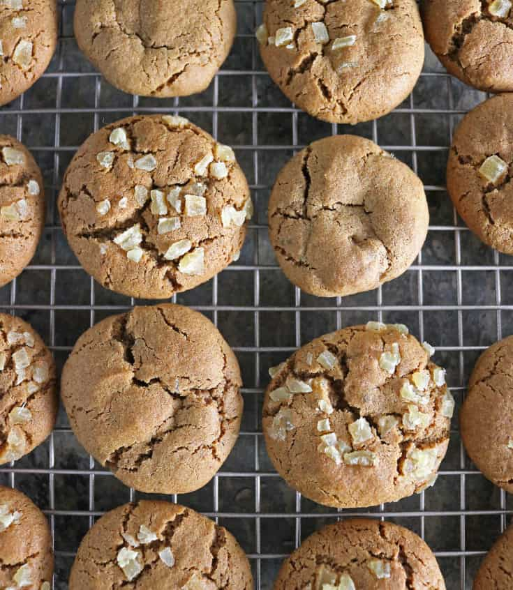 Take a break during this busy holiday season with these soft and gluten free, Ginger Molasses Cookies. They are irresistable with a warm cup of coffee or tea - unless you gift them all away this holiday season
