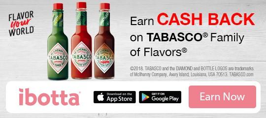 Tabasco iBotta offer