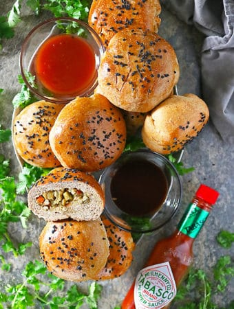 TABASCO Curried Chicken Stuffed Buns Photo