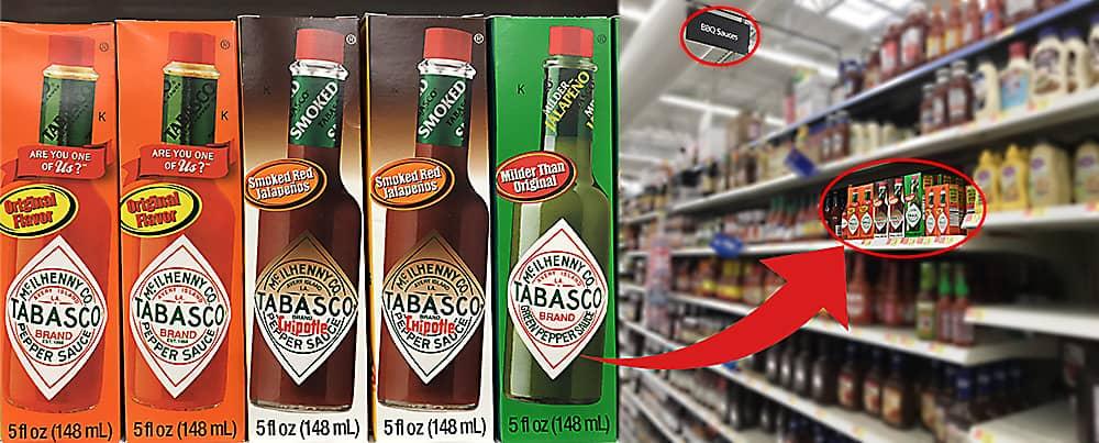 Tabasco Walmart Photo