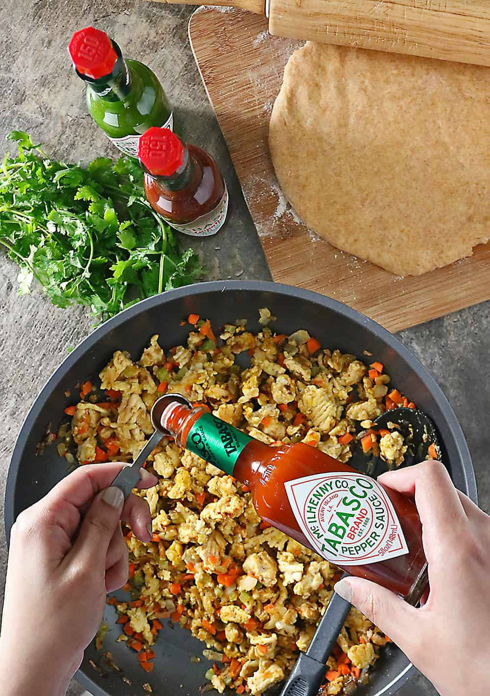 Photo of Tabasco in Curried Chicken