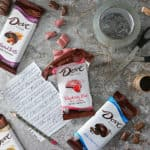 Packing Shenanigans and NEW DOVE® Chocolate Bars