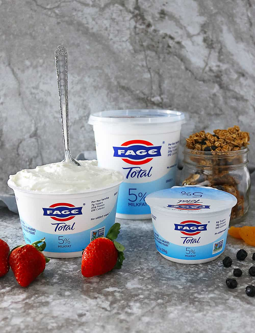 Delicious FAGE 5% Smooth and Creamy Greek Yogurt