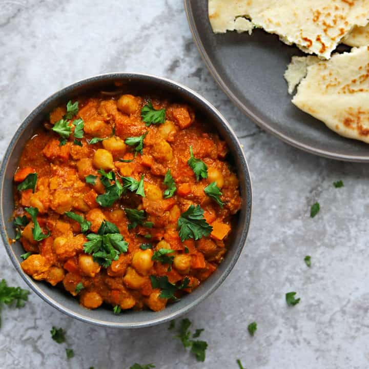 Easy Chickpea Carrot Curry with FAGE