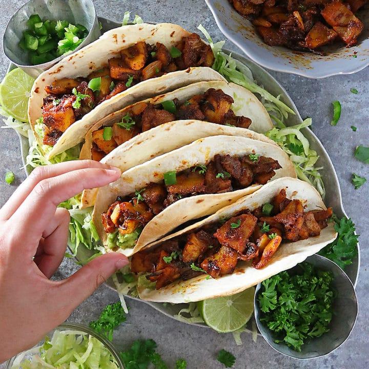 Easy Jackfruit Tacos