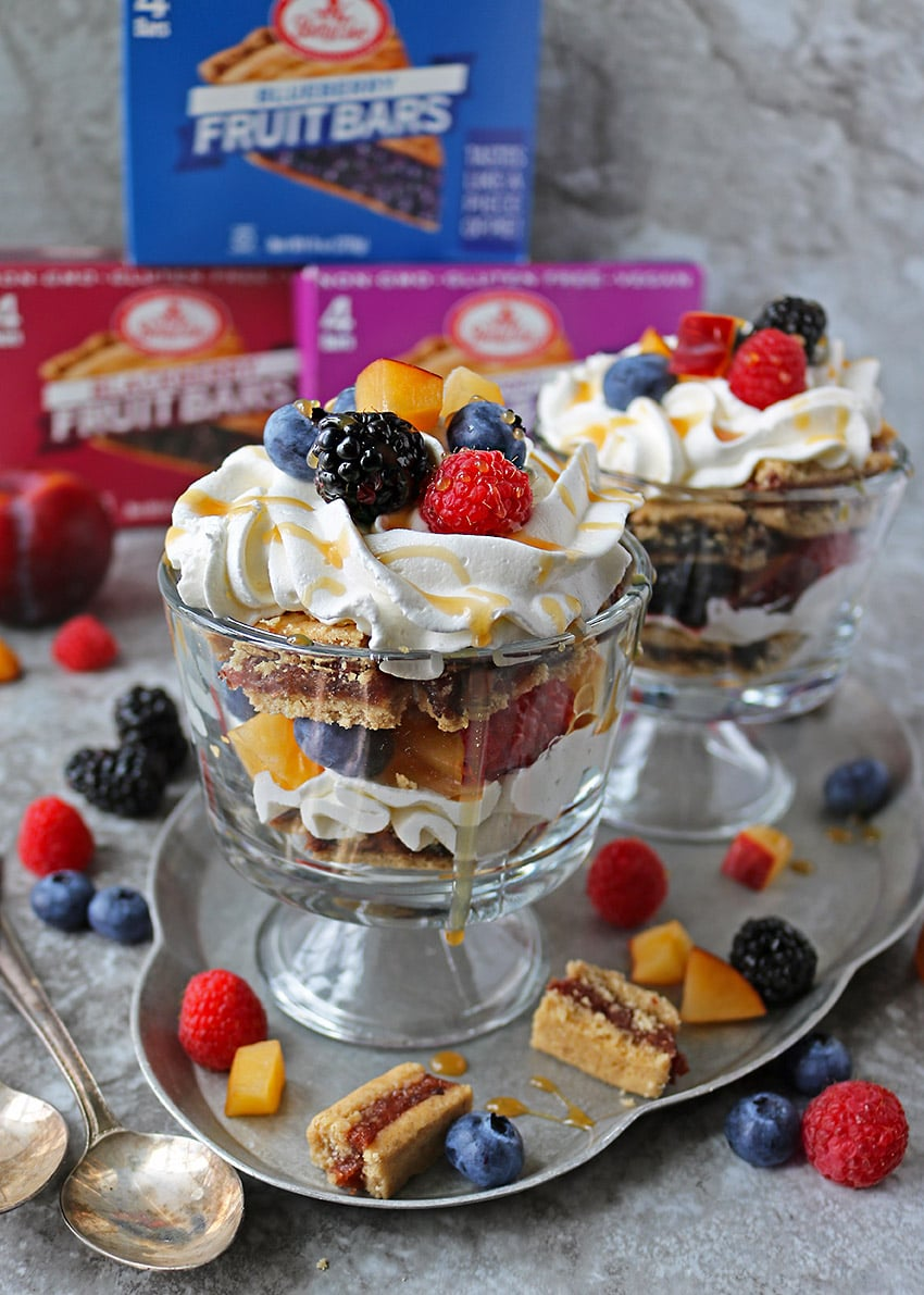 So Easy Bar Berry Trifles in two individual servings.