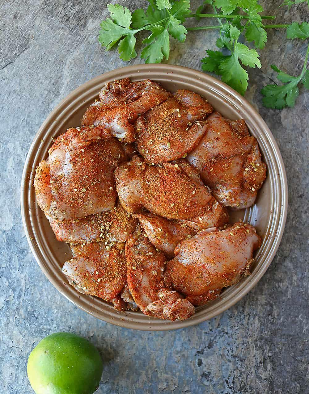 Preparing Easy delicious Za'atar Ras-el-hanout Chicken Spinach Dinner