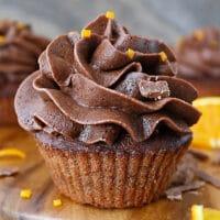 Air Fryer Chocolate Orange Cupcakes Recipe