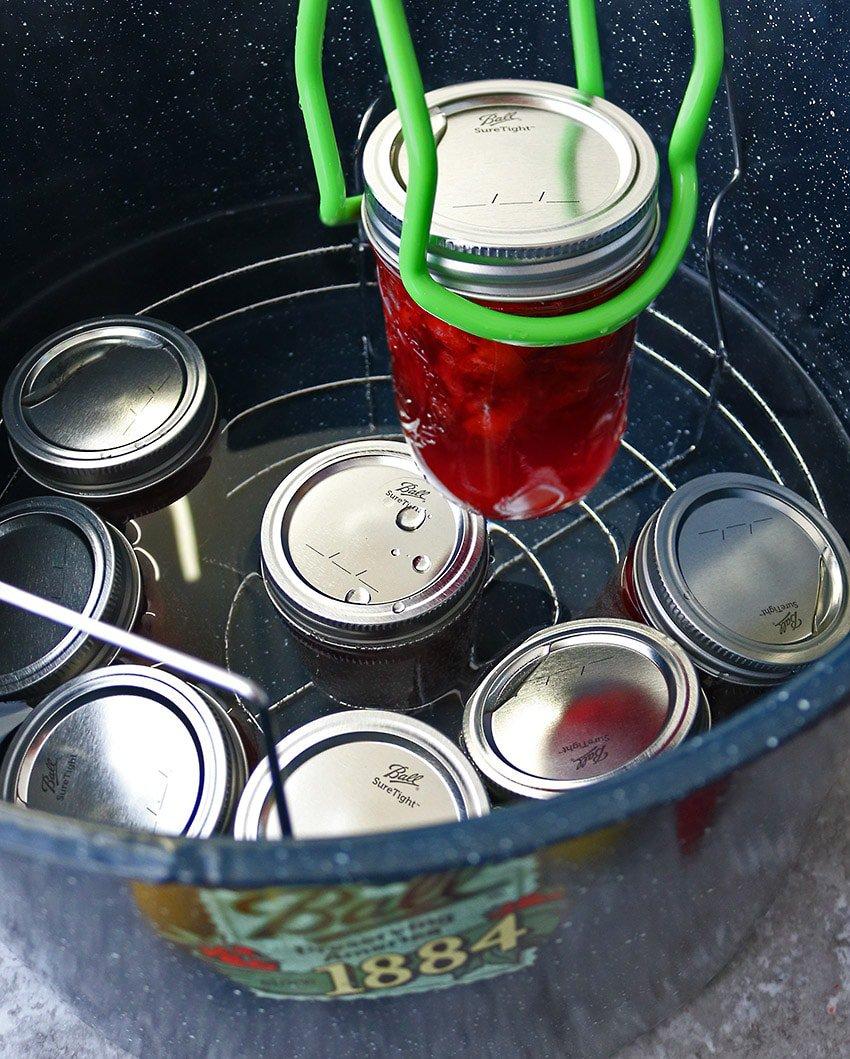 Canning Strawberry Lemonade Marmalade.
