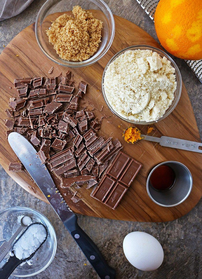 Air Fryer Chocolate Orange Cupcakes Image