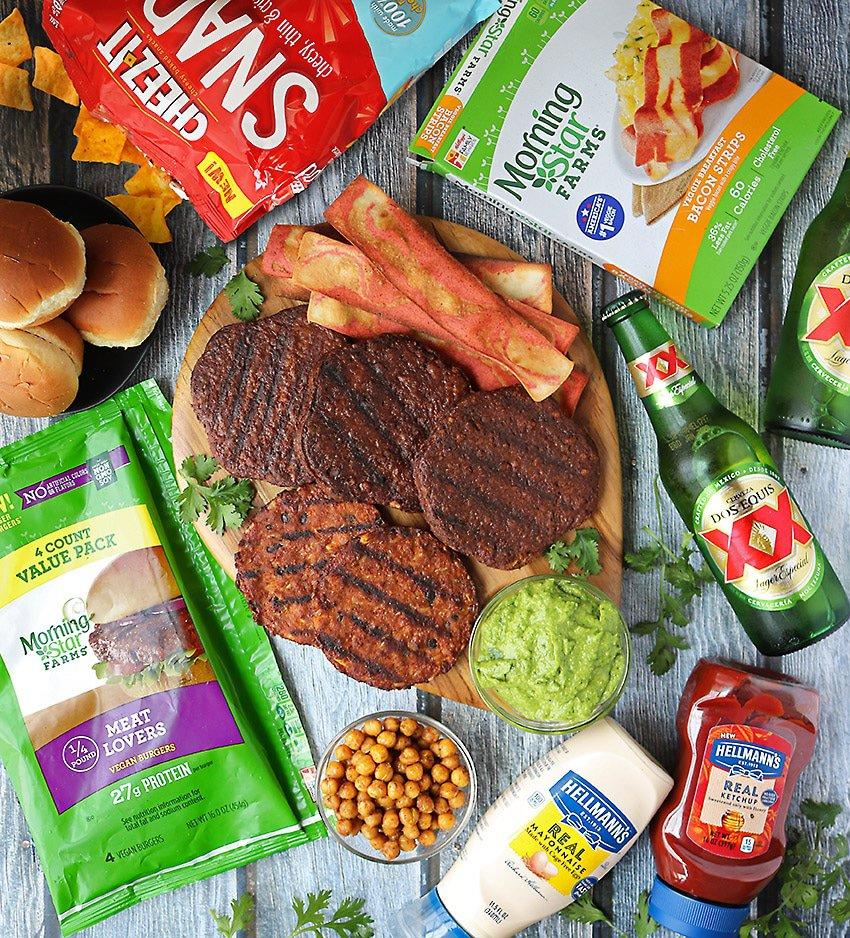 Burger Bar Recipes featuring MorningStar And Green Goddess Sauce