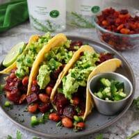HeartBeet Bean Tacos