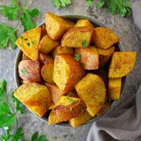 Melt-In-Your-Mouth Turmeric Potatoes