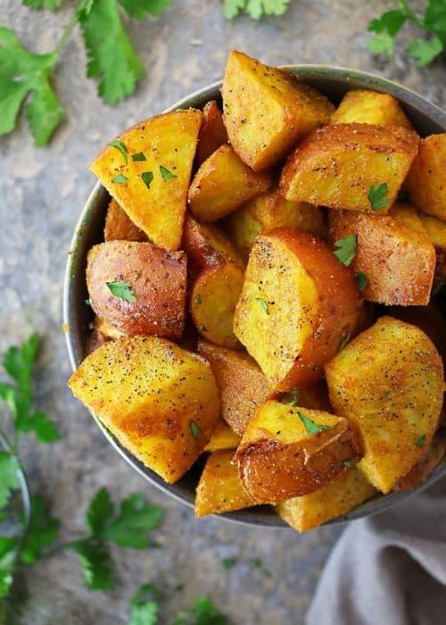 Easy Turmeric Potatoes