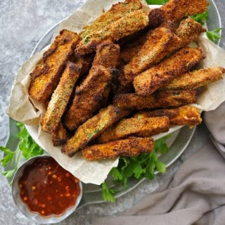 Air Fryer Zucchini Fries (Gluten Free)