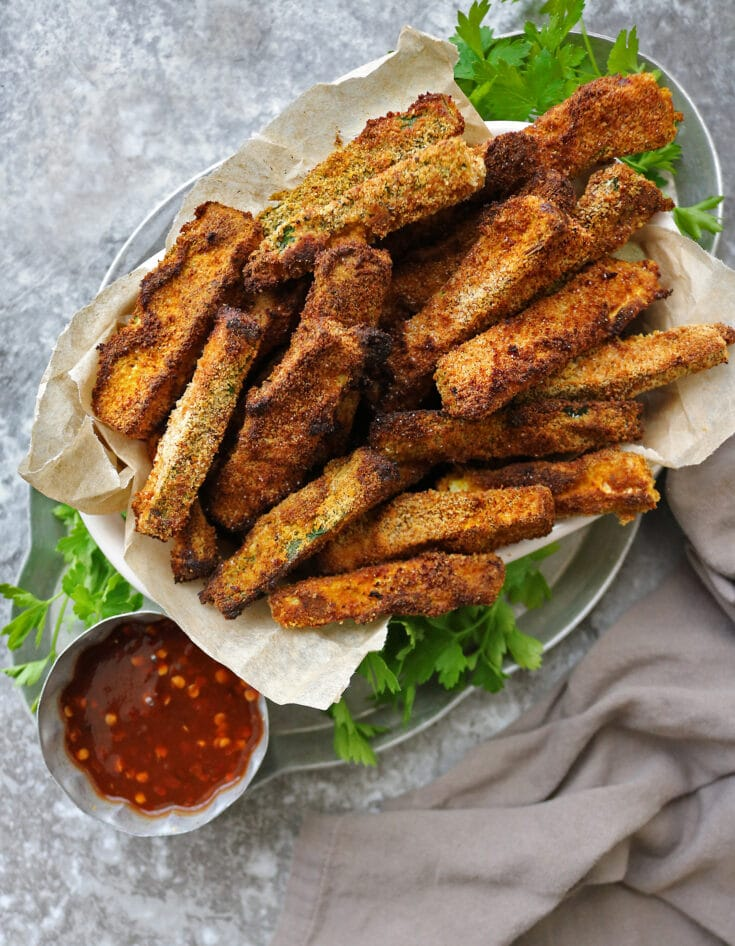 Air Fryer Zucchini Fries (Gluten Free)