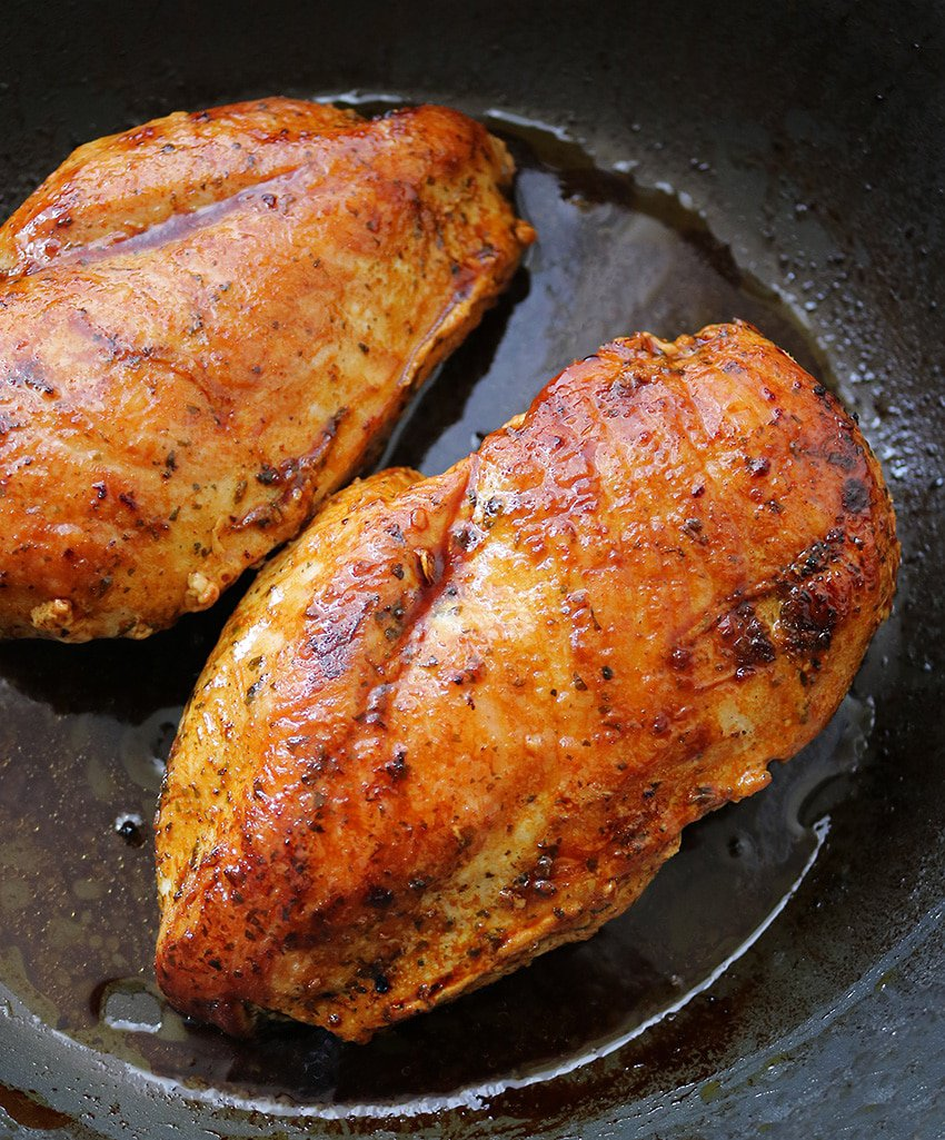 Cooking Sprouts Citrus Herb Chicken