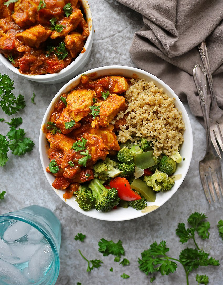 Easy Chicken Curry Dinner
